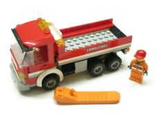 Lego Harbor #4645 Rare Red Truck with Instructions + Orange Tool