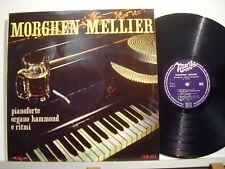 MORGHEN MELLIER disco LP 33 giri PIANOFORTE ORGANO HAMMOND E RITMI Made in Italy