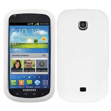 For Samsung Galaxy Stellar i200 Rubber SILICONE Soft Gel Skin Case Cover White