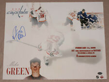 Mike Green SIGNED 16x20 Photo Washington Capitals PSA/DNA AUTOGRAPHED