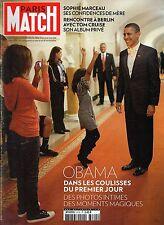 Paris Match.Barack Obama,Sophie Marceau,Tom Cruise,Karl Lagerfeld,iii