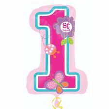 Sweet Girl 1st Birthday Party Supplies SUPERSHAPE FOIL BALLOON Party Decoration