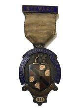 Masonic Silver Steward Jewel - 1927 RMIB
