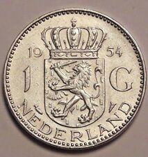 1 Gulden Nederland 1954 <==>>1980 Pays bas  Netherlands KM#184 184a 200