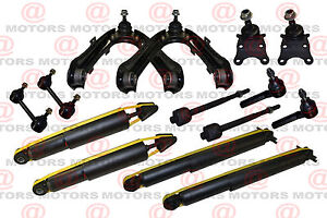 Chevy Colorado Gmc Canyon Front Upper Arms Ball Joint Links Shock Absorbers RWD