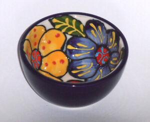 Spanish Ceramic Round Bowl 7cm