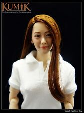1/6 Kumik Accessory - Action Figure Female Head Sculpt KM005 For Phicen Hot Toys