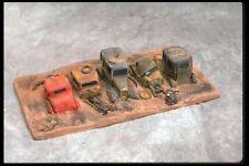 SMC-701 20's & 30's Model A's Junkyard Scene  HO, HOn30 Scale   (unfinished)