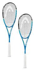 Head Graphene Xt Xenon 135 slimbody squash racquet - 2 pack bundle - Warranty
