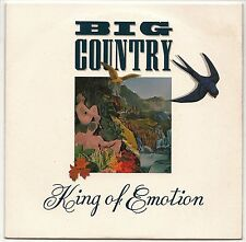 """BIG COUNTRY KING OF EMOTION + THE TRAVELLERS 7"""" SINGLE PIC SLEEVE 1988 EX/EX"""