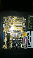 ASUS P4B rev. 1.05 Socket mPGA478B, 6 PCI, AGP, Intel Motherboard+CPU+cooler+RAM