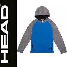 Head Boys  Pullover Hoodie Sweatshirt  Pic Co Blue OR Black /& Sz S-M #1166063