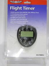 FlLIGHT TIMER 2 from ASA MULTI FUNCTION AVIATION TIMER Pilots p/n ASA-TIMER-2