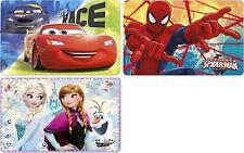 Anna & Elsa Cars Spiderman Platzdeckchen Tischset Eiskönigin Unterlage Disney