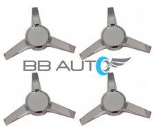 NEW for 2005-2009 FORD MUSTANG 3-Bar Spinner Chrome Wheel Center Caps Set of 4