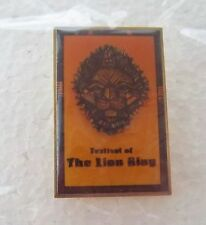 *~* DISNEY WDW FESTIVAL OF THE LION KING OPENING DAY OF ANIMAL KINGDOM PIN *~*