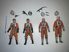 star wars black series pilot lot dak wedge luke