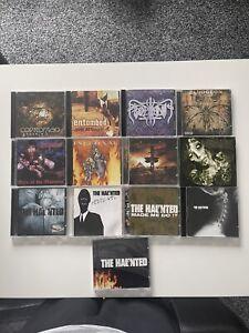 13 X Death Metal CD Bundle Job Lot The Haunted Gorerotted Impaler Coprofago Nile