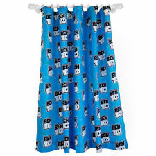 Ben 10 Hero Omniverse Blue Boys Kids Character 66x54 Ready Made Curtains