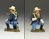 King & Country John Ford's Cavalry Kneeling with Pistol KX021