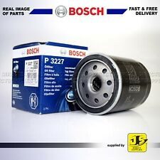 GENUINE BOSCH OIL FILTER P3227 FITS FORD - MAZDA 121 Mk III 1.8 D OE QUALITY