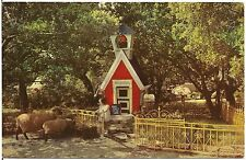 Mary Had A Little Lamb at Children's Fairyland Oakland CA Postcard