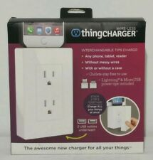 AthingCHARGER Plug Plus Mini USB Android  Apple Lightning Charger for All Things