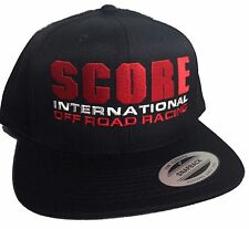 2f93939b Score International off Road Racing Hat Cap Flat Bill Snapback Desert Baja  1000