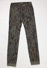 6aeaed268e6d Pantalone donna usato mimetica S W28 tg 42 cargo militare slim skinny T3260