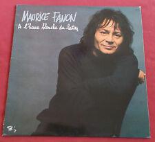MAURICE FANON  LP ORIG FR A L'HEURE BLANCHE DU LAITIER
