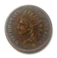 "1879 Indian Head Cent Penny   ""TUCK"" XF I12"