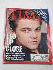 Time Magazine- Leo Up Close: Leonardo DiCaprio- February 21, 2000