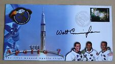 APOLLO 7 SCHIRRA, EISELE & CUNNINGHAM COVER SIGNED BY ASTRONAUT WALT CUNNINGHAM