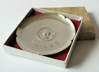COMMEMORATIVE SILVER PIN TRAY SILVER YUBILEE OF QUEEN ELIZABET II 1952-1977