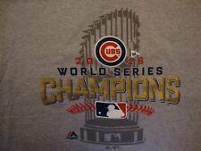 MLB Chicago Cubs Baseball World Series Champions 2016 Sports T Shirt Size 2XL