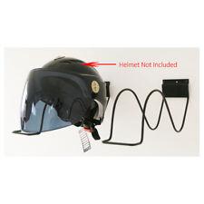 Bike Motorcycle Helmet Storage Wall Mounted Hanger Rack Shelf Display Holder WCV