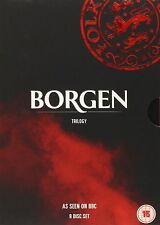 Borgen Trilogy Complete Collection 1-3 DVD Box Set All Seasons 1 2 3 UK Release