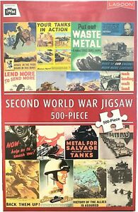 Imperial War Museum Second World war LAND Posters 500 pc Jigsaw Puzzle (pl)