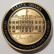 OFFICIAL 44th POTUS President Barack Obama White House Issued Challenge Coin