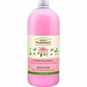 1000ml Bubble Bath Foam Rose & Green Tea Cleanses, Moisturises Relaxing Calming
