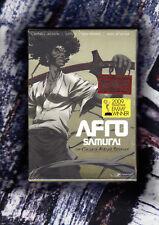 AFRO SAMURAI Complete Murder Sessions - Director's Cut 1st Ed 4 Disc DVD Box Set