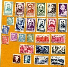 Lot z853 26 timbres de 1948