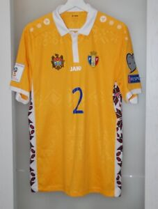 Match worn shirt Moldova national team World Cup 2018 Bolohan size