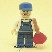 LEGO Collectable Mini Figure Series 9 Plumber - 71000-16 COL144 R1279