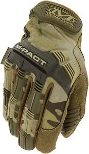 Mechanix Wear M-Pact Gloves Men Tactical Military Army Airsoft Use MultiCam