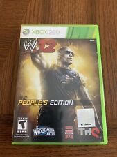 Rare collectors edition WWE '12 The People's Edition for Xbox 360 Feat. The Rock