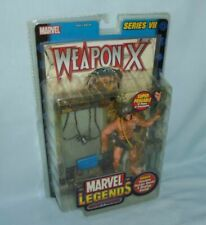 Marvel Legends Weapon X Wolverine Action Figure Series VII 7 X-men Poster 2004