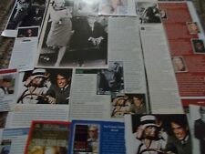 FAYE DUNAWAY  CELEBRITY  CLIPPINGS PACK  GOOD CONDITION