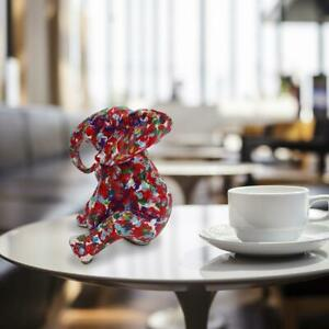 GILLIE AND MARC. Direct from artists. Authentic resin sculpture - Elephant - Red