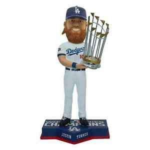 Justin Turner Los Angeles Dodgers 2020 World Series Champions Bobblehead MLB